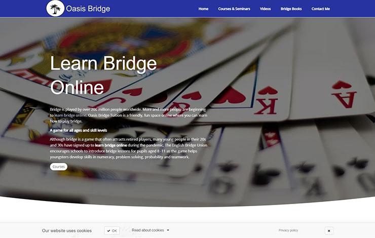 Learn Bridge Online | Oasis Bridge Tuition