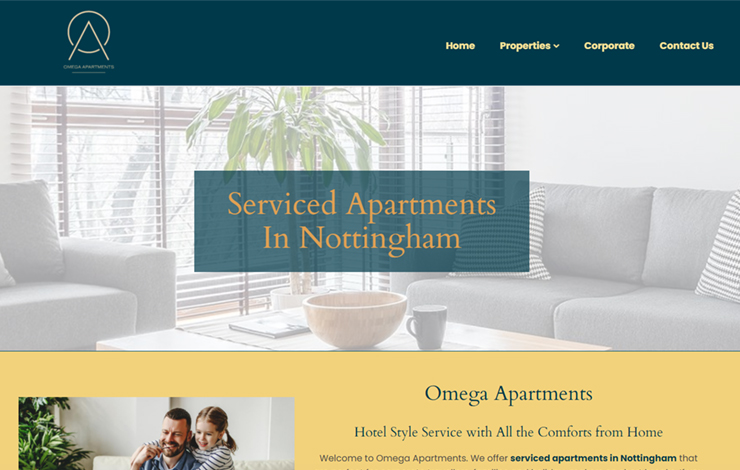 Omega Apartments | Serviced Apartments In Nottingham