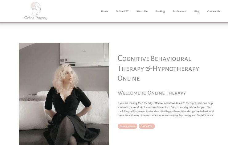 Online CBT and Hypnotherapy | Online Therapy
