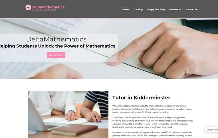 DeltaMathematics | Tutor in Kidderminster