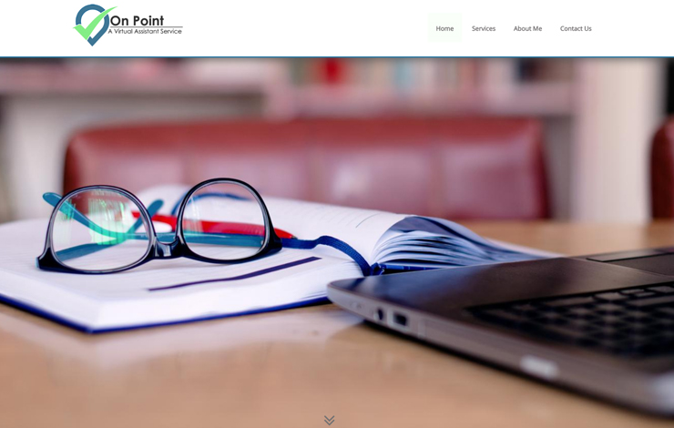 Website Design for Virtual Assistant Service For Small Businesses | On Point Virtual