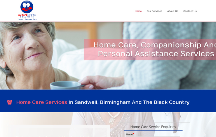 Home Care Services in Birmingham | Open Care Solutions