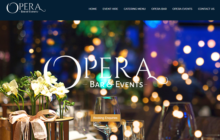 Website Design for Italian restaurant in Romford | Fine dining and wines
