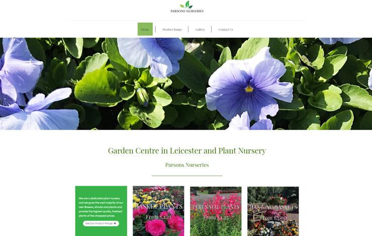 Garden Centre in Leicester | Parsons Nurseries