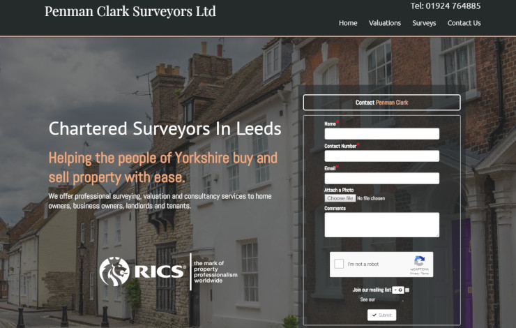 Chartered Surveyor in Leeds and Yorkshire