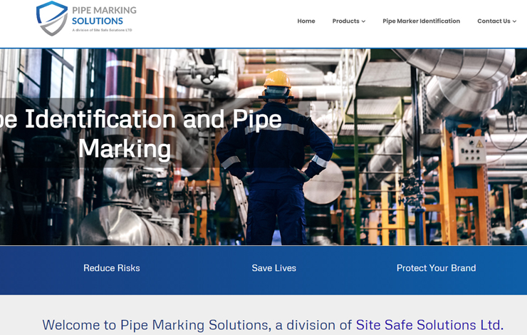 Pipe Marking Solutions | Workplace Identification Specialists