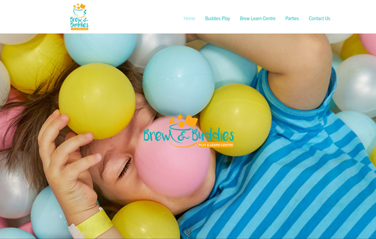 Website Design for Soft play in Lancashire | Brew & Buddies Play and Learn Centre