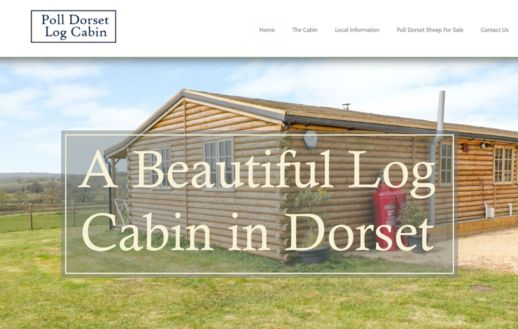 Website Design for Luxury holiday rental in Dorset