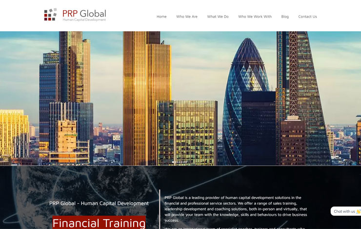Financial Training You Can Trust | PRP Global | Home