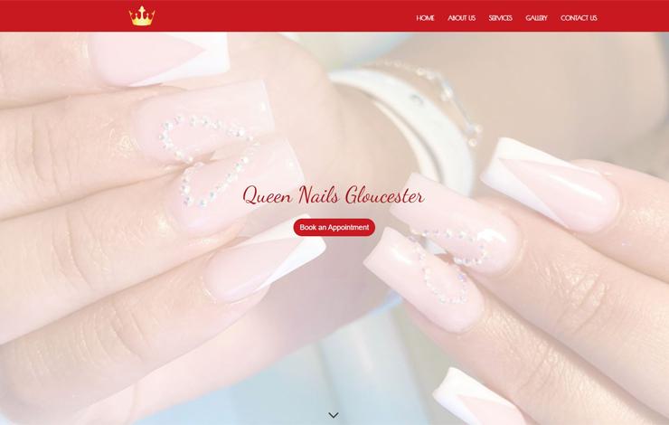 Queen Nails Gloucester | Nail Salon Gloucester
