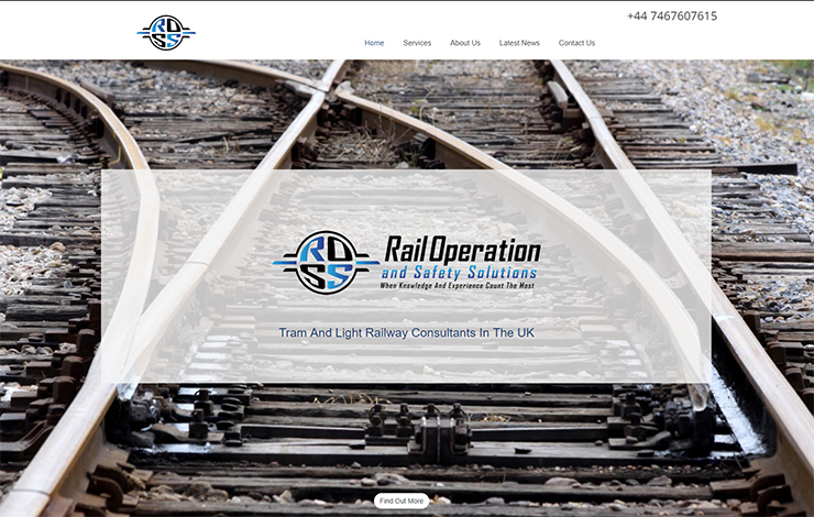 Website Design for Tram And Light Railway Consultants UK