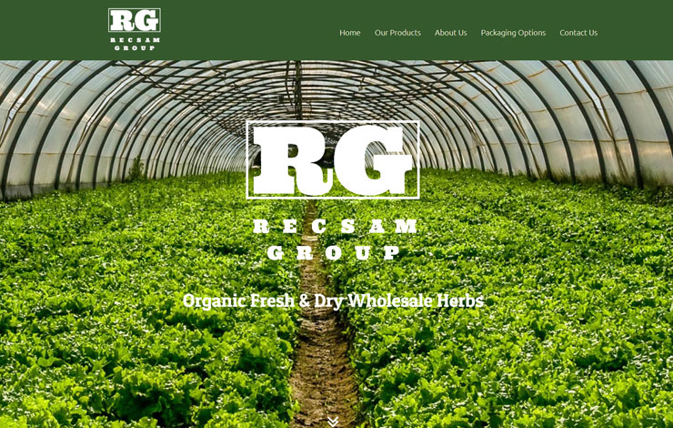 Organic Wholesale Herbs Fresh or Dry | RECSAM Group | Home