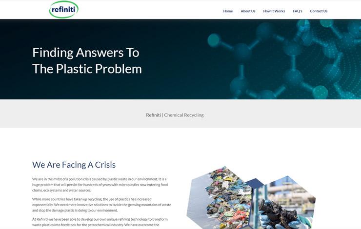 Refiniti | Chemical Recycling