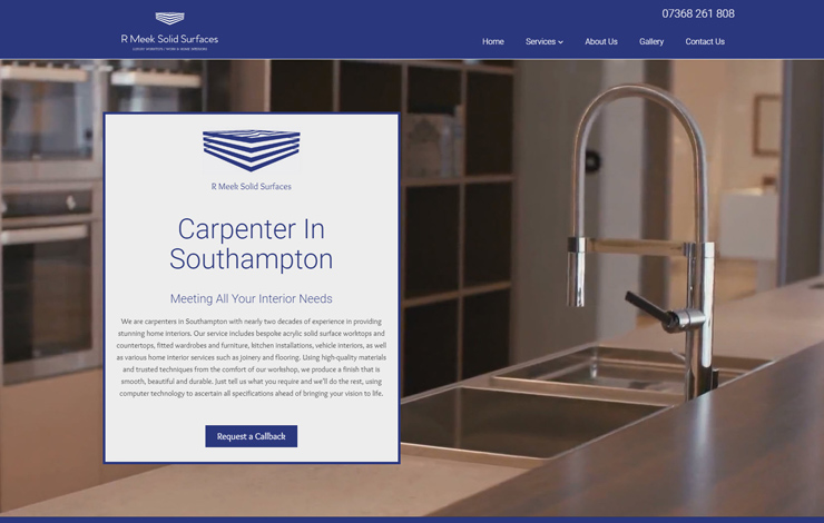 Carpenter in Southampton | R Meek Solid Surfaces