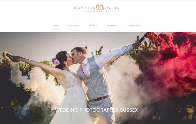 Wedding photographer Sussex | Roberts Twins Photography