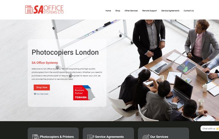 Photocopiers London | SA Office Systems
