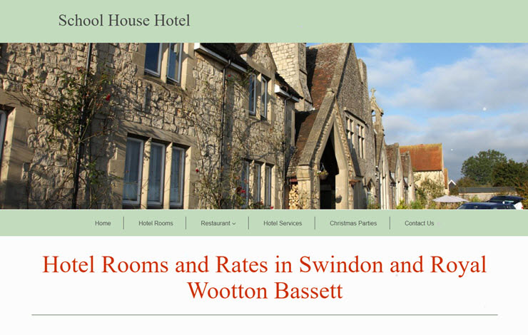 School House Hotel And Restaurant In Swindon And Wootton Bassett
