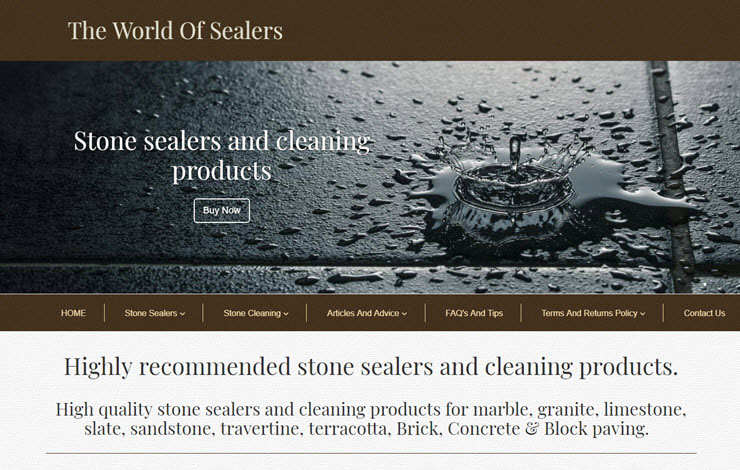 Ultimate Stone Sealers, Endorsed By The Guardian, UK