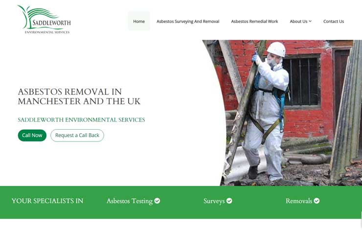 Asbestos Removal in Manchester | Saddleworth Environmental Services