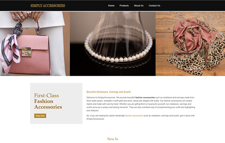 First Class Fashion Accessories | SIMPLY ACCESSORIES