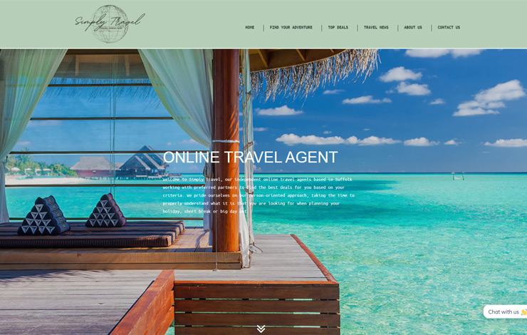 Online Travel Agent | Simply Travel | Home
