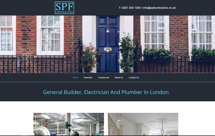 General Builder, Electrician and Plumber in London