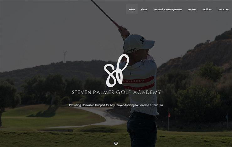 Steven Palmer Golf Academy in Spain