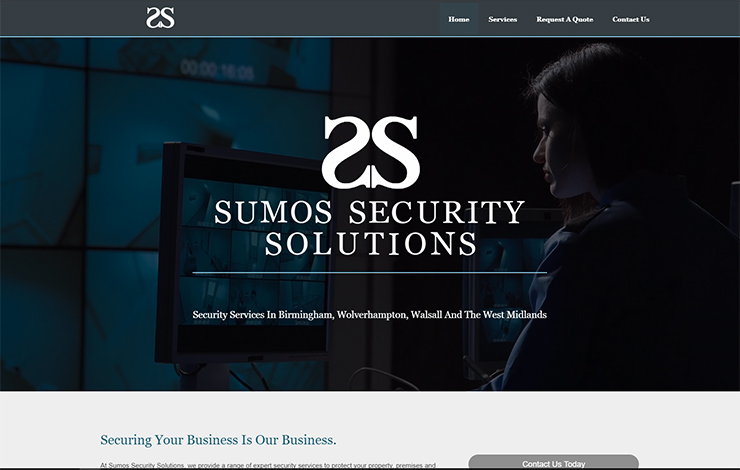 Website Design for Security Services in Birmingham