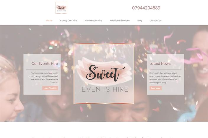 Candy Cart and Photo Booth Hire in Manchester