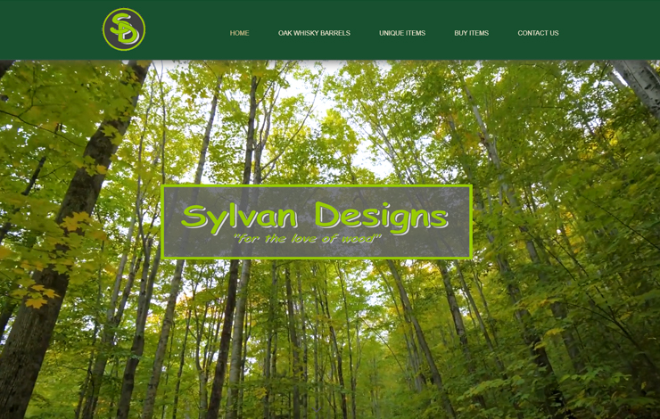 Website Design for Bespoke Furniture Makers in West Sussex and Surrey | Sylvan Designs
