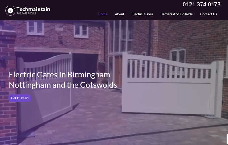 Electric Gates in Birmingham | Techmaintain The Gate People