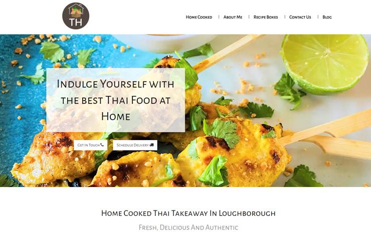 Thai Food at Home | Thai Takeaway in Loughborough