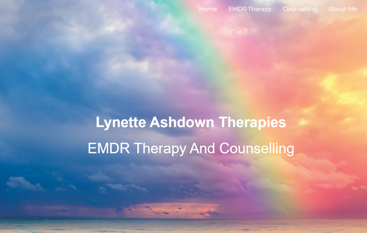 Website Design for EMDR Therapy and Counselling in Welling