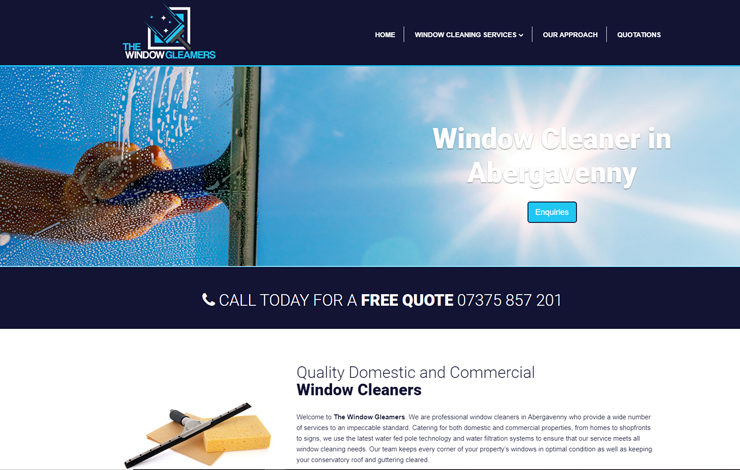 The Window Gleamers | Window cleaner in Abergavenny