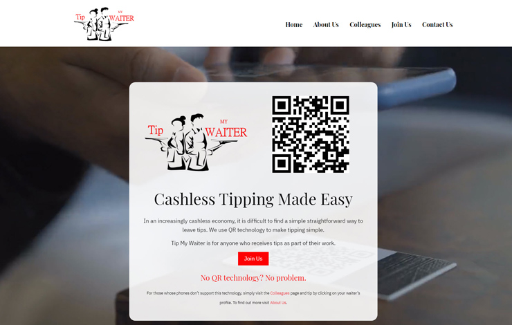 Cashless Tipping Made Easy | Tip My Waiter