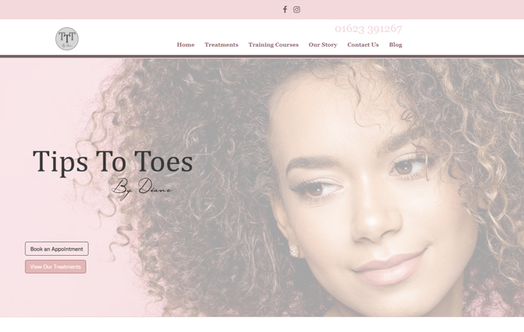 Tips To Toes | Beauty and Training Salon, Sutton In Ashfield