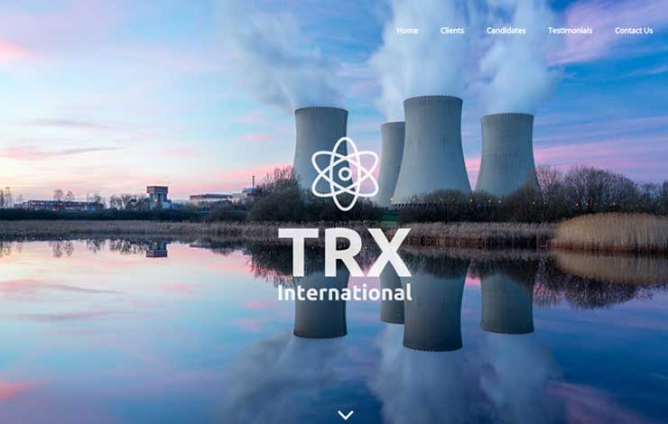 Website Design for Nuclear Job Recruitment