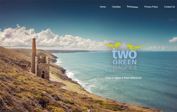 Website Design for Fundraising Consultant in Cornwall
