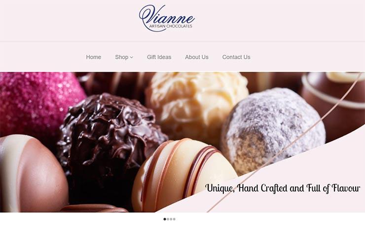 Vianne | Artisan Chocolates and Truffles