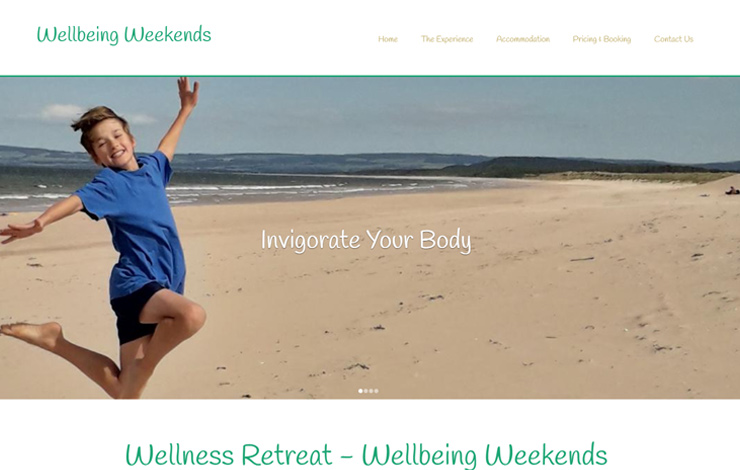 Wellness retreat in Scotland - Wellbeing Weekends