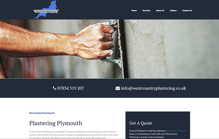 Plastering in Plymouth | West Country Plastering ltd