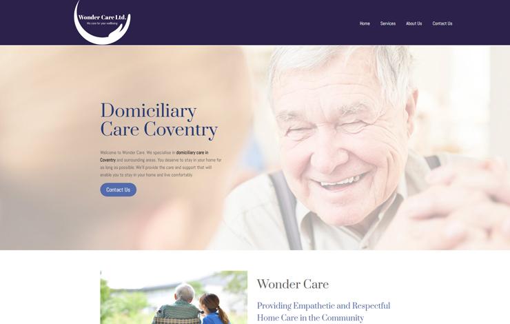 Domiciliary Care Coventry | Wonder Care