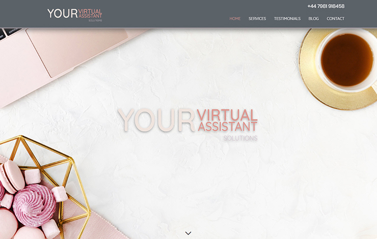 Website Design for Your Virtual Assistant Solutions | French and English PA