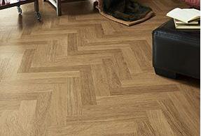 Herringbone floors- Sanded and varnished.