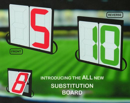 electronic  manual substitute boards endorsed by UEFA  FIFA  PATENTED PRODUCTS The No 1 choice