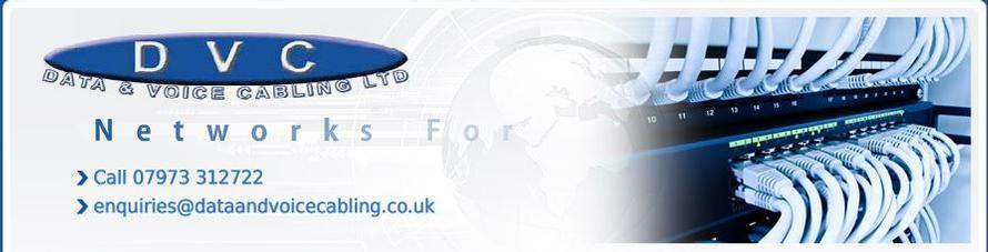 Network Cabling Contractor - Category 5E 6 Cat 7 Fibre Fiber Optics Leicester Nottingham