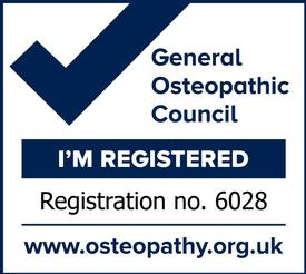I am registered with the General Osteopathic Council