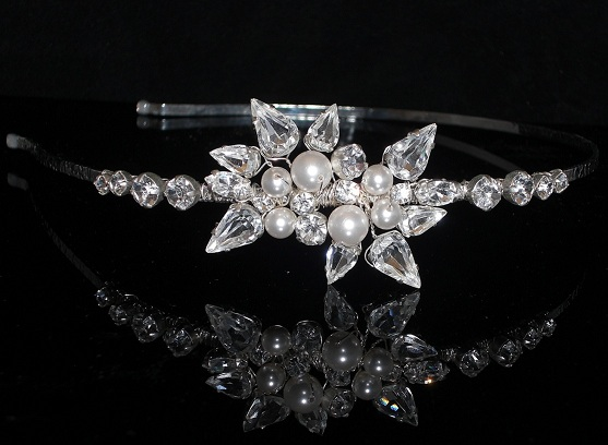 Bridal Tiaras, Jewellery and Wedding Accessories over 100 Swarovski Crystal & Pearl Colours