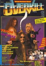 venom black metal magazine covers