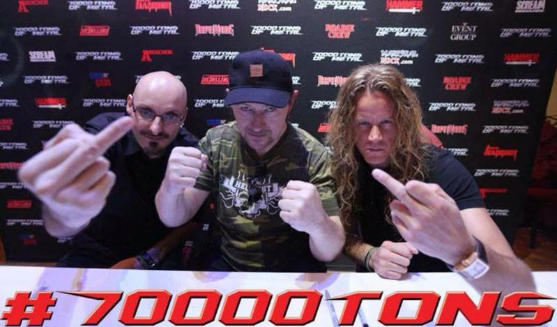 Venom 70 000 Tons Of Metal Cruise 2015